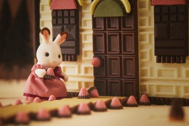 人気キャラクター・ショコラウサギファミリーのお母さんもにっこり