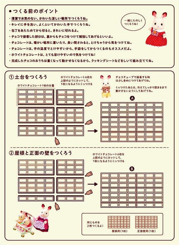 【レシピ】「赤い屋根のおうち」のレシピをイラストでチェックしよう!作り方1~2