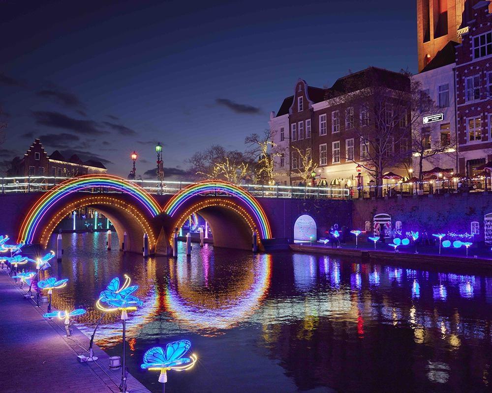 運河を巡る光とアートの感動体験、長崎県佐世保市のハウステンボスで「カナルアートフェスティバル」開催