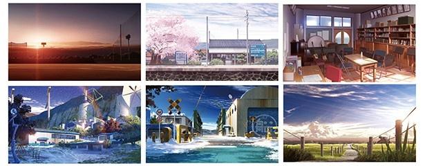 「AngelBeats!」「花咲くいろは」の背景美術を手掛けた東地和生の作品展が秋葉原で開催