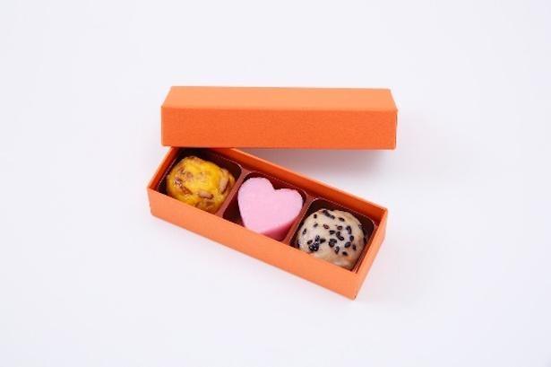 ボックス入りだと、本当にチョコレートのよう。さつま揚げの概念が変わりそうだ