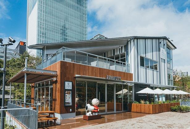 """PEANUTS Cafe 名古屋のテーマは""""コテージ"""""""