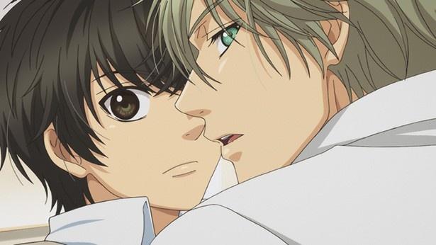「SUPER LOVERS 2」第7話場面カット公開。篁が小野寺のアパートへ