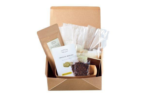 「ダンデライオン・チョコレート」の「チョコレートブラウニーベーキングキット」