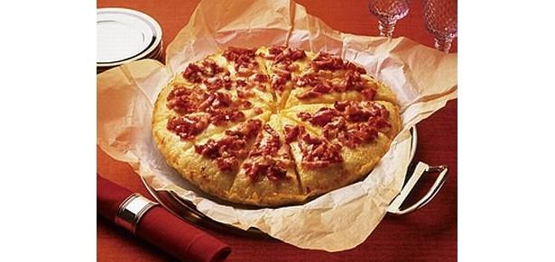 前菜は「パンチェッタ&トマト」
