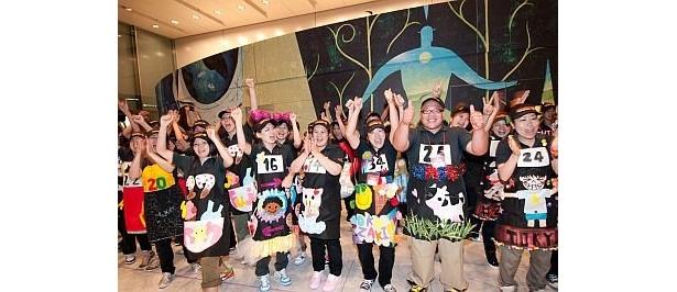 オールジャパン クリーマリーカップで優勝したジャズドリーム長島店のクルーたち。このチームワークが…