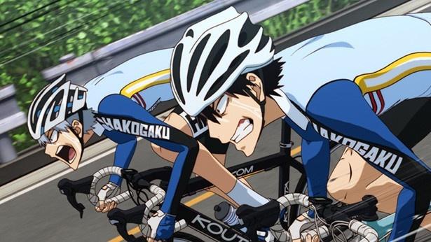 「弱虫ペダル NEW GENERATION」第8話の先行カットが到着。東堂VS真波!