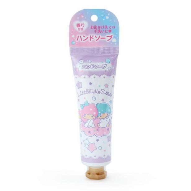 「リトルツインスターズ  携帯用ハンドソープ」(605円)
