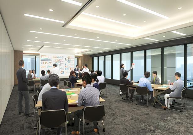 サイズの異なる8つの会議室がそろう「ステーションコンファレンス川崎」