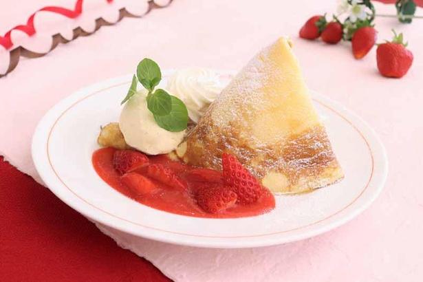 公式サイトで「いちごクレープ」のレシピを公開!自宅でパティシエの味を再現してみよう