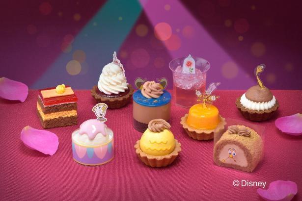 ベルや野獣にルミエールも!キャラクターが徹底再現されたプチケーキ