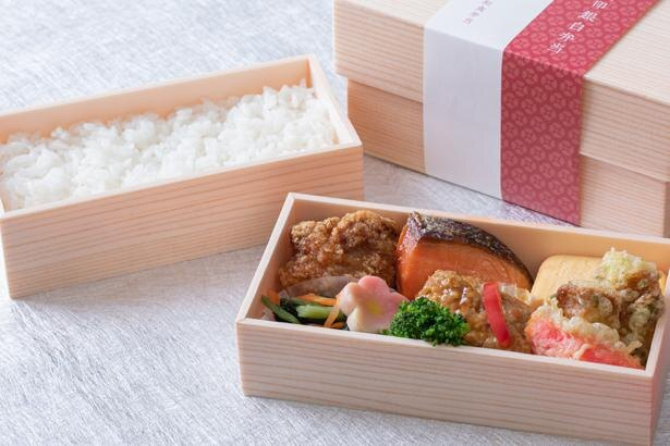 和のおかずを詰め込んだ、和食弁当1080円(税込)。シンプルだからこそ、ごはんとおかずの相性を堪能できる逸品