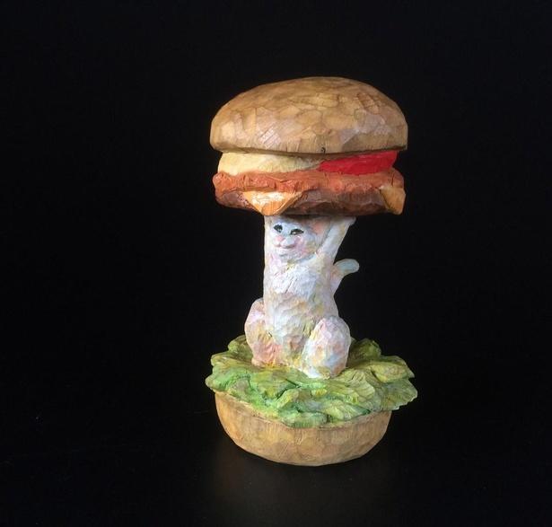 食材もリアルに再現した「ハンバーガーからこんにちは」