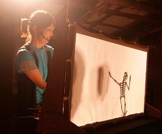 墨田聖書教会の会堂で3月5日(日)に開催される、墨田区在住の影絵師SAKURAによる影絵ワークショップ(参加費1390円、要予約)