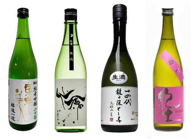 「Sakenomy Shop」で販売される日本酒