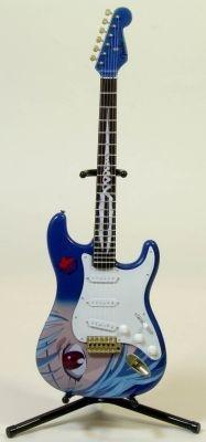 """世界で完全限定2本の""""レイギター""""がミニチュアに ※写真はイメージ"""