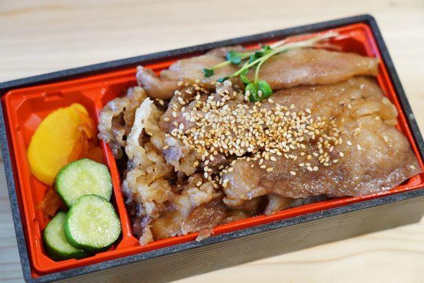 宮崎牛を自家製タレで味付けした「宮崎牛焼肉弁当」