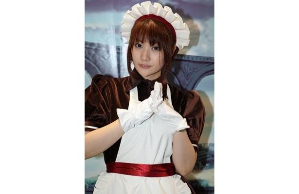 会場内にはアイドル級のコスプレ美女が多数!写真は小夏ミナトさん