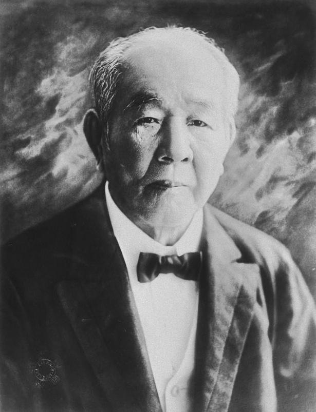 【写真】渋沢栄一肖像(国立国会図書館蔵)