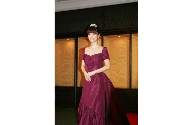 「EXELCO DIAMOND AWARD」を受賞した上戸彩