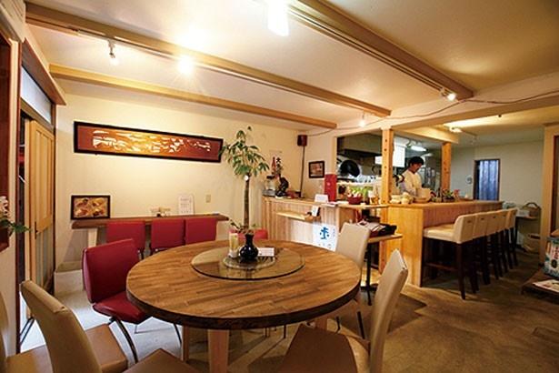 中国料理店とは思えない、カフェのような雰囲気/たねさん's Kitchen