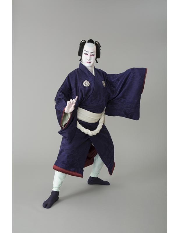 """自主公演""""研の會""""第1回公演で「吉野山」の忠信に扮して"""