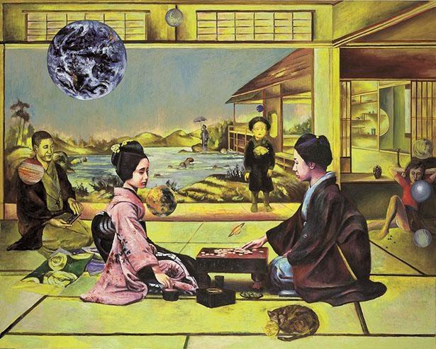 《想い出と現実の一致》1998年 富山県美術館