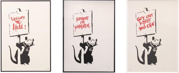 社会的弱者をネズミに重ねた「ラット」シリーズ