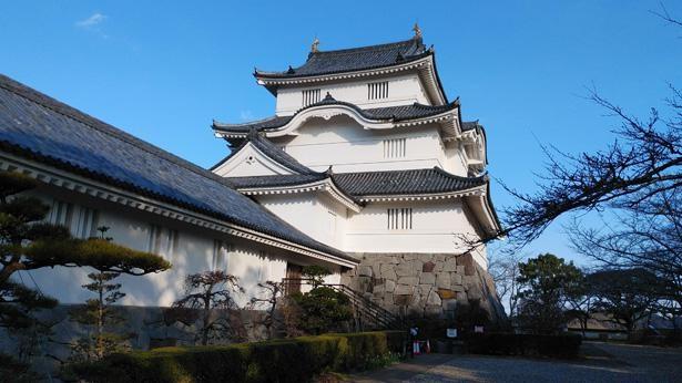 大多喜城の正式名称は、千葉県立中央博物館大多喜城分館。上総大多喜城本丸跡に建設された、天守閣づくりの歴史博物館だ