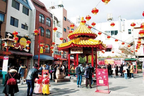 南京町は日本三大中華街の一つ