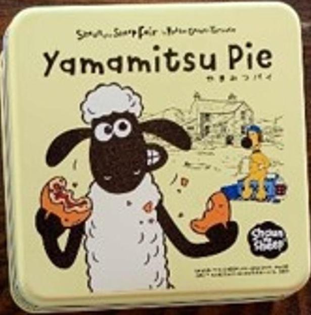 六甲山で採れたはちみつを使った「ひつじのショーンやまみつパイ」(1210円)はお土産に最適