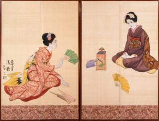 竹久夢二とマリー・ローランサンに注目、茨城県笠間市で「夢二×ローランサン 乙女の夢はアヴァンギャルド」が開催中