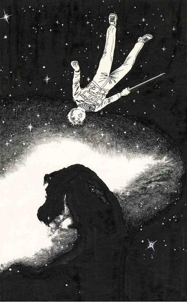 諸星大二郎『暗黒神話』より「天の章」本文原画 1976年
