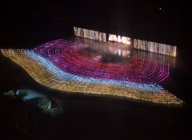 西武園ゆうえんちの夜を華やかに彩る「イルミージュ」