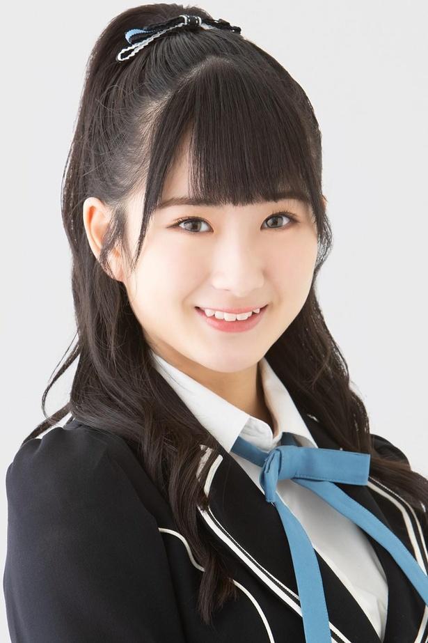 中野美来(MIRAI NAKANO)、ニックネーム:みぃちゃん、ドラフト3期生、生年月日:2002年12月10日、A型、奈良県出身