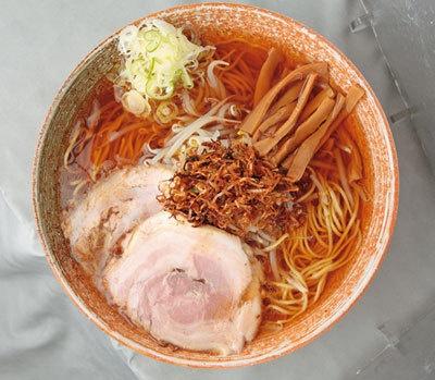 神保町「覆麺」のラーメン