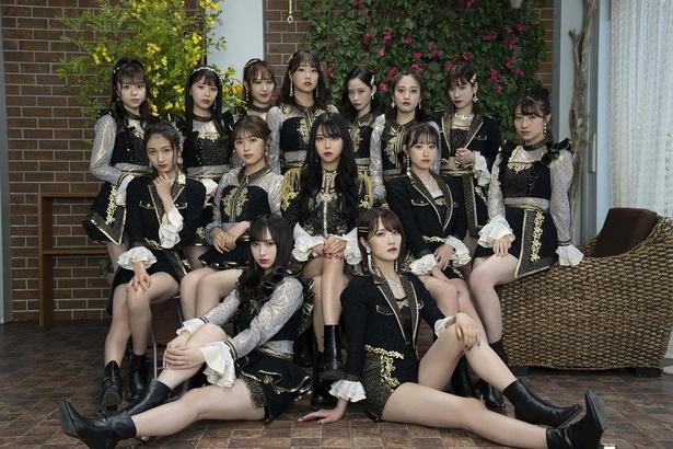 6月16日(水)発売のNMB48 25thシングル「シダレヤナギ」アーティスト写真