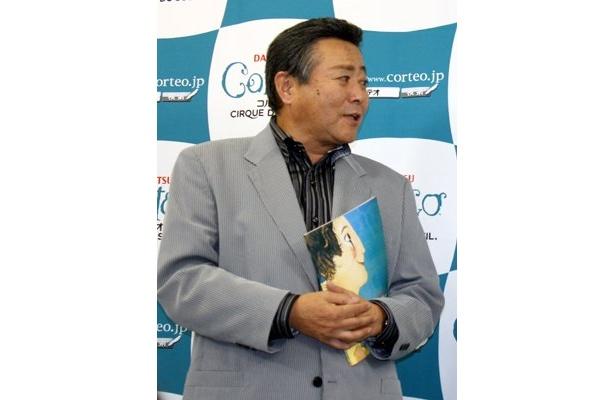 コルテオに出演している日本人のことなど、豆知識も明かした小倉さん