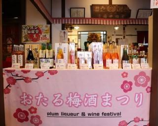 数量限定の梅酒などが並ぶ、北海道小樽市で「おたる梅酒祭り2021」が開催中