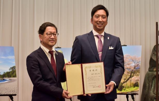 元阪神・藤川が「関西・高知スポーツ観光大使」に就任