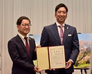 元阪神・藤川が地元に恩返し!関西・高知スポーツ観光大使に就任