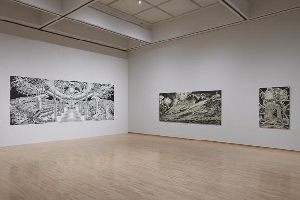 風間サチコ「Tokyo Contemporary Art Award 2019-2021 受賞記念展」展示風景、東京都現代美術館、2021