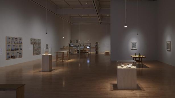 下道基行「Tokyo Contemporary Art Award 2019-2021 受賞記念展」展示風景、東京都現代美術館、2021