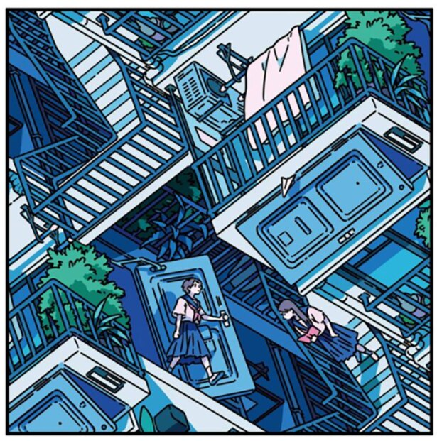 「可能性の迷宮」 オランダの画家・エッシャーのだまし絵へのオマージュを感じる作品