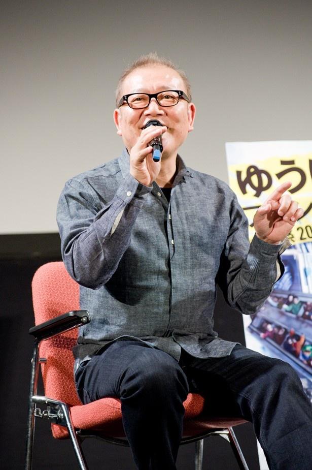 ゆうばり国際ファンタスティック映画祭2017で、トークショーイベント「俳優・國村隼KOKOROの声」に登壇した國村隼