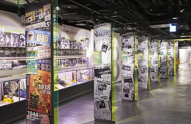 「虎の足跡」阪神タイガースの球団史を7つの時代に切り分けて、各時代のエピソードを当時の映像や新聞と共に解説