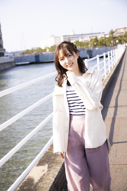 【写真】ファンの間でも有名なあの道でも撮影したいと希望した森保まどか(HKT48) (C)KADOKAWA  (C)Mercury   PHOTO/TANAKA TOMOHISA