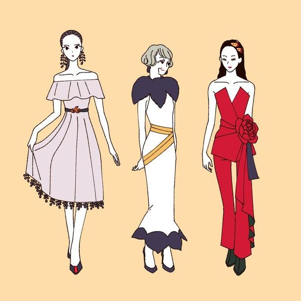 「花札をモチーフにしたファッション」(2/4)