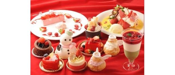 期間限定メニュー「クリスマススイーツ・コレクション」