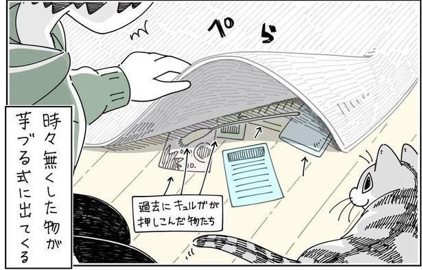 「カーペットの下」04